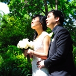 Ruby and Phung - Fitzory Gardens