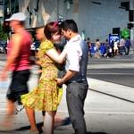 Ying and Jeni - pre-wedding shoot Flinders Street